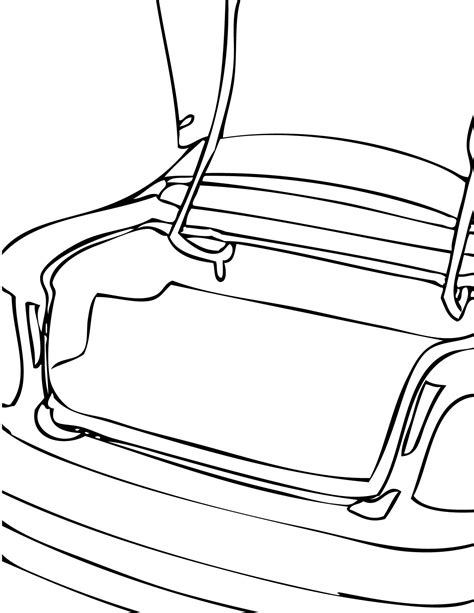 smart car coloring page trunk tree roots coloring pages