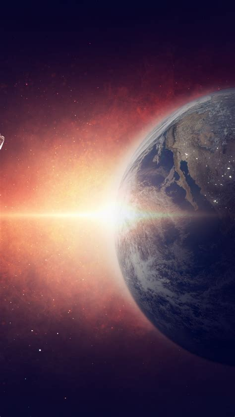 wallpaper earth planet space galaxy astronaut