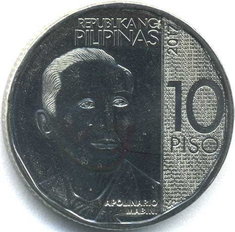 piso coin philippine ten peso coin