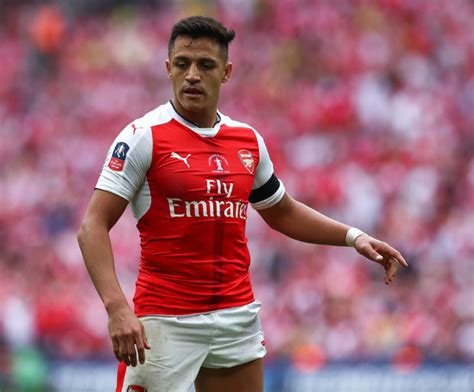 alexis sanchez arsenal quotes pierre emerick aubameyang to chelsea blues warned off