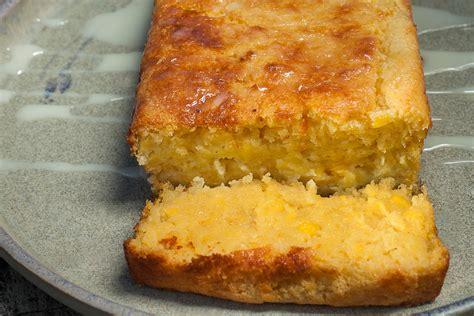 The Sweet Recipe Cake easy pan de elote recipe sweet mexican corn cake