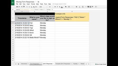 google sheetsforms tip moving google forms data