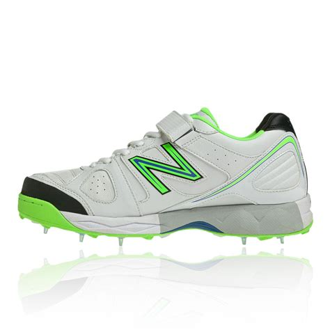 cricket sport shoes new balance ck4030 mens white cricket studs spikes sport