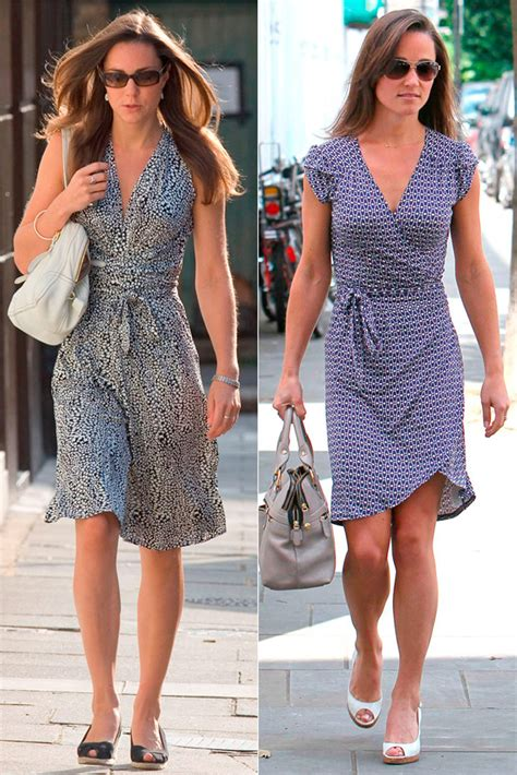 Vs Katee by Pippa Middleton Vs Kate Middleton Who Wore It Best