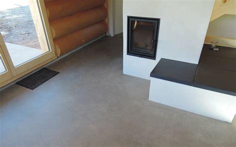 industrieboden wohnzimmer betonboden wohnbereich haus dekoration