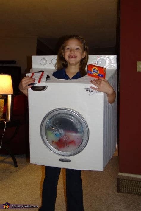 diy washing machine costume