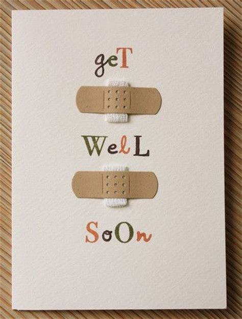 diy get well cards get well card cards