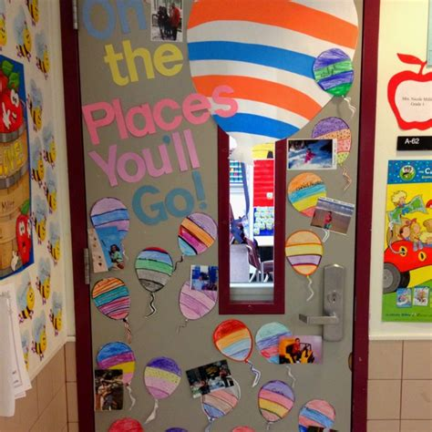 oh the places you ll go door decoration dr seuss