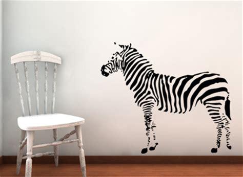 zebra stickers for walls zebra beautiful wall decals