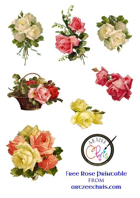 printable paper roses free printable scrapbook cutouts free printable of