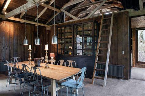 Merveilleux Interieur Maison Ancienne Renovee #5: salle-a-manger-grange-transforme-villa.jpg