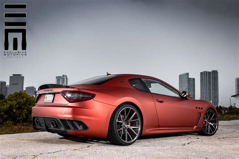 custom maserati granturismo maserati granturismo mc stradale kicks back on custom