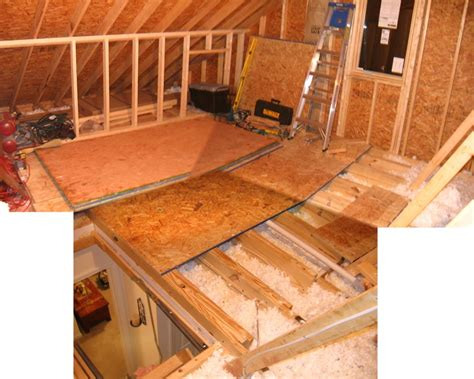 Attic Flooring Ideas by Attic Project Rootsrain