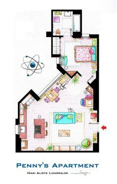 big theory floor plan 1000 images about tv show floor plans on tv