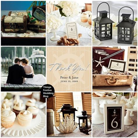 nautical themed wedding in mocha black ivory things festive weddings events