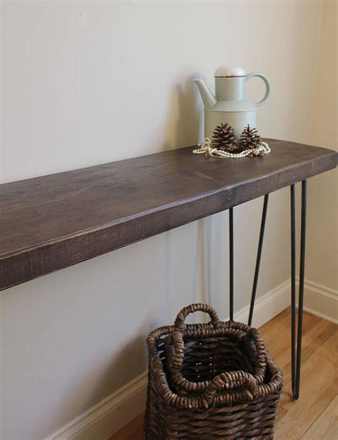 industrial style console table industrial style console table m 246 a design