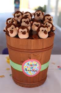 Monkey Favors Birthday by The Laws Of My Monkey See Monkey Do