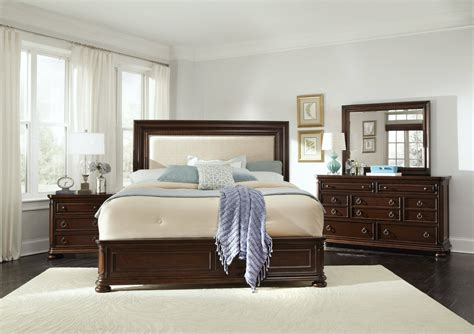 traditional master bedroom furniture set chandler traditional brown wood master bedroom sets the