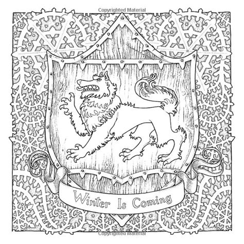 thrones coloring book for adults 17 best images about of thrones coloring pages for