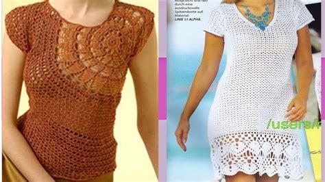 aprende a tejer blusas a crochet paso a paso learn knit easy crochet como hacer vestidos y blusas tejidas a crochet imagenes