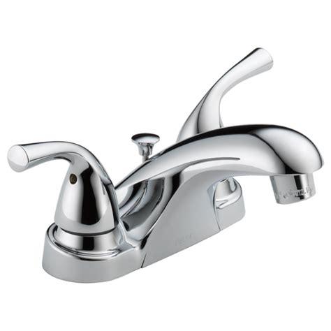 two handle centerset bathroom faucet b2515lf ppu delta