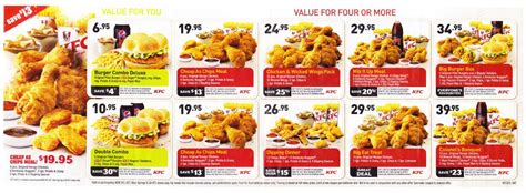kfc new year promotion 2015 kfc special deals coupons 2015 2016 7