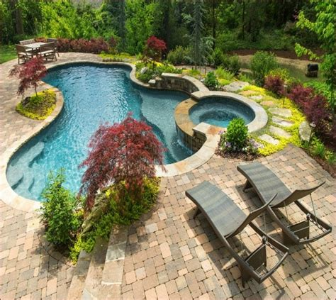 landscape around pool planting ideas around pools image of landscaping ideas