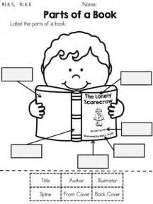 25 best parts of a book ideas on pinterest kindergarten