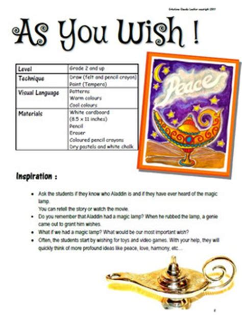 lesson plan on new year as you wish new year lesson plan magic l tpt