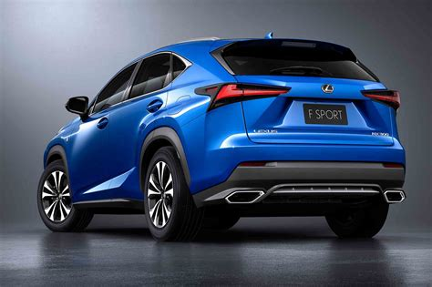 lexus ct200 2018 2018 lexus nx shows off new design in shanghai