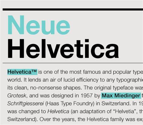 dafont helvetica neue neue helvetica font of the week