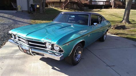 1969 Chevrolet Chevelle Ss396 W 4 Speed Mint Condition