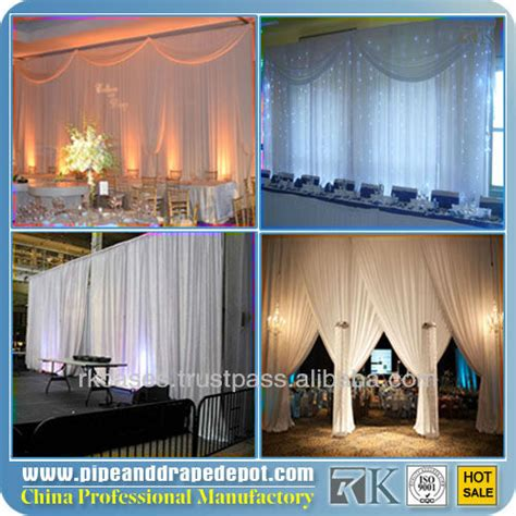 draping poles for sale portable backdrop poles wedding draping fabric used for