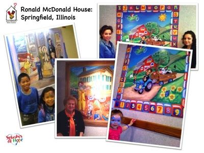 Ronald Mcdonald House Springfield Il by Ronald Mcdonald Houses Splashes Of