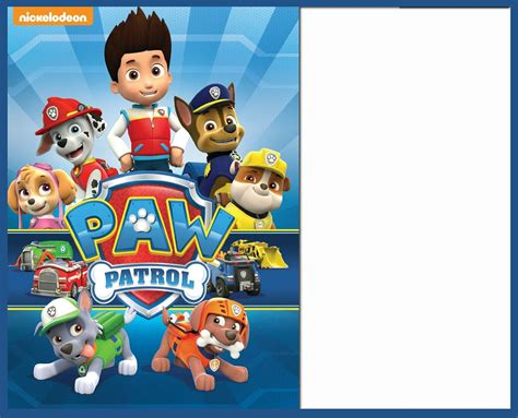 Paw Patrol Templates Pa Patrol Cupcake Toppers Best 20 Paw Patrol Badge Ideas On Pinterest Paw Paw Patrol Birthday Invitation Template