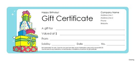 how to numbered gift certificates in publisher gift ftempo