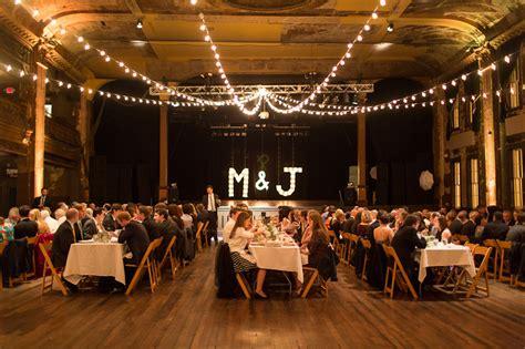 Wedding Backdrop Milwaukee by Turner Ballroom Wedding Emilia Photography