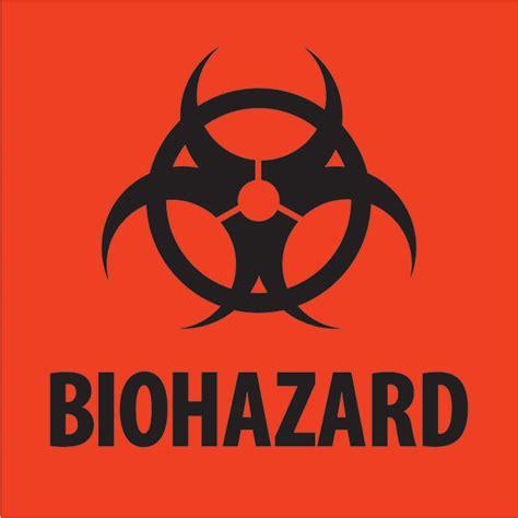 printable biohazard label 4 quot x 4 quot quot biohazard quot fluorescent red labels