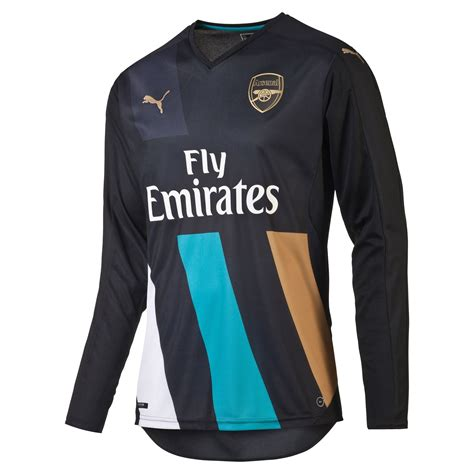 Promo Heboh Jersey Bola Ls Arsenal Home 16 17 Musim 2016 2017 Grade Or arsenal 15 16 sleeve cup jersey