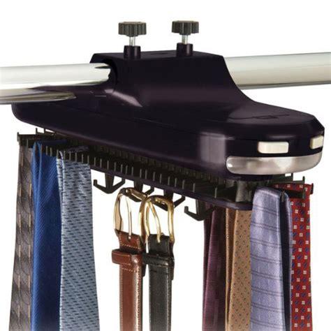Motorized Closet Rack by Motorized Revolving Tie Rack In Tie And Belt Racks