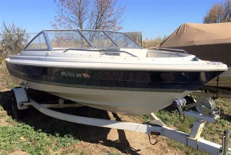 deck boat for sale north dakota 1998 bayliner 1950 capri bowrider minot north dakota