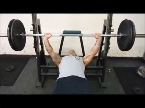 bench press pull up superset bench press superset youtube