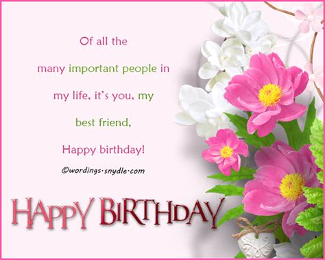Happy Birthday Wishes For Friend Message In Happy Birthday Messages For Bestfriend Wordings And Messages