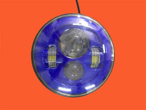 led blue lights for motorcycles 7 daymaker replacement blue projector hid led light