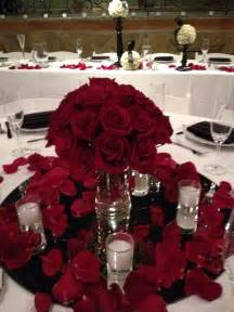 wedding roses centerpieces glamorous centerpiece low centerpieces petals centerpieces and