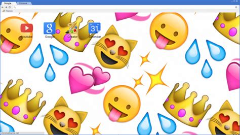 emoji themes for google chrome emoji background chrome theme themebeta