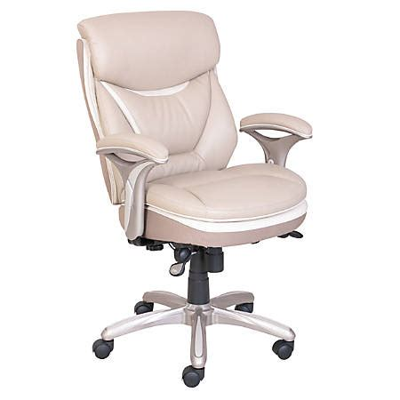 smart layers verona manager chair taupechampagne  office depot officemax