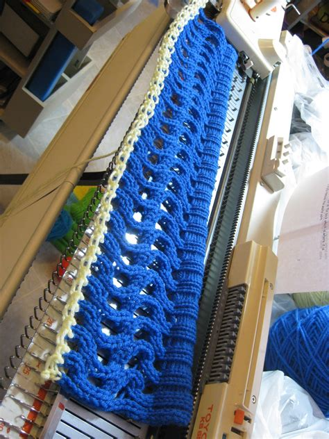 which knitting machine machine knitting my new cap