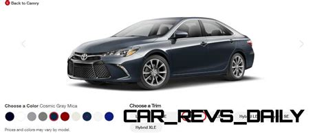 Toyota Camry Car Colors 2015 Toyota Camry Xse Colors 22