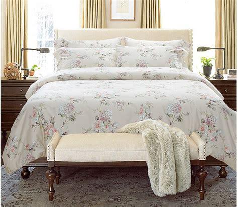 Egyption Cotton Bedding Sets Luxury 100 Cotton Bedding Set Sheets Floral King Size Quilt Duvet Cover Bed